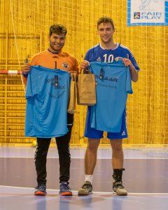 Aleksander Eide og Jonas Grotle Frøyen, som vann Bestemannspremien. Gratulerer!